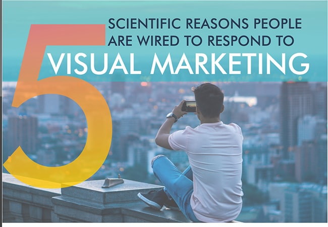 5 reasons people are wired to respnd to visual marketing-infographic-iscribblers